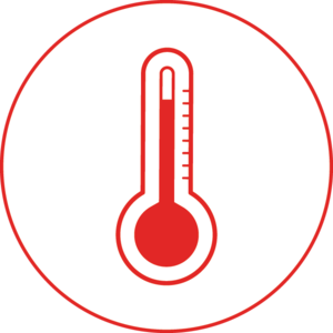 A thermometer during Reopening