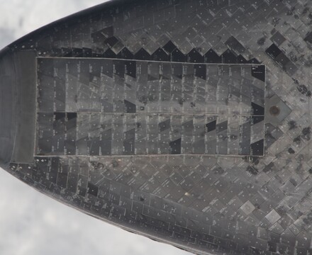 Thermal Tiles on space shuttle Endeavour